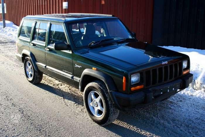 f5e100bb37b Jeep Cherokee for parts. Uued ja kasutatud varuosad ameerika 1999 m ...
