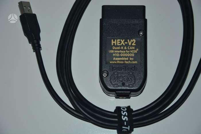 VCDS 18 9 -19 6 HEX V2 | A7074033 | Autoplius lt