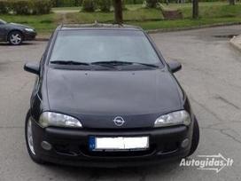 Opel Tigra. Opel tigra  is vokietijo dalimis.1.4-1.6ltr eco