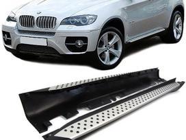 BMW X6. Aliuminium soniniai slenksciai x6 e71-e72-is vokietijos.