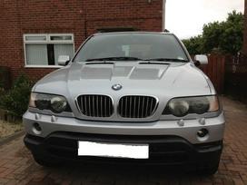 BMW X5. E53 4.4i dalimis maza rida sport paketas xenon