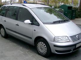 Volkswagen Sharan. Automobilis dalimis,vebasta,variklio apsauga.