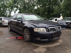 Audi A8. Longas, odinis sildomas ventiliuojamas salonas, r19,