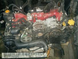 Subaru Impreza  WRX. Naudoti subaru varikliai ir jų dalys:subaru