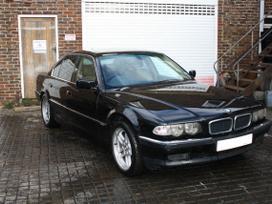 BMW 740. Bmw 740i tv su blokais dsp sistema face lift dvieju