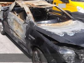 Opel Tigra dalimis. Automobilis ardomas dalimis:  запасные части