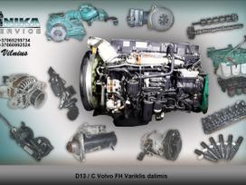 Volvo Variklio dalys D12D/D13A/ D13C, vilcējs