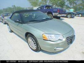 Chrysler Sebring. Pristatome i bet kuri lietuvos miesta