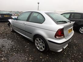 BMW 3 serija. Compact 2003 m.  ratu nera salono nera del kitu