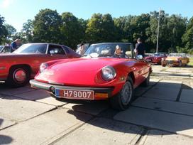 Alfa Romeo Spider, kabrioletas