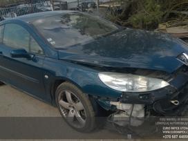 Peugeot 407 dalimis. Automobilis ardomas dalimis:  запасные част