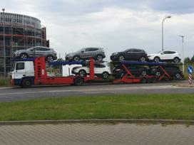Automobilių gabenimas autovežiu iš europos