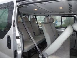 Opel Vivaro dalimis. Sedynes,  salonai,   kebulo dalys
