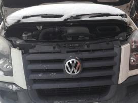 Volkswagen Crafter. Kuriasi motoras kodas bjl