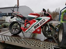 Ducati 848, supermoto