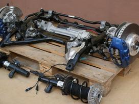 BMW 1 serija važiuoklės, transmisijos dalys