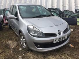 Renault Clio dalimis. Turime ivairiu