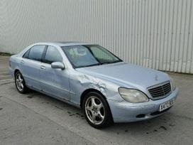 Mercedes-Benz S500. Mb s500, 2001m, longas,lieti ratai, juodas