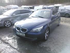 BMW 520. Facelift pilkas odinis salonas r17 ratai kablys