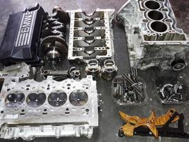 BMW 3 serija variklio detalės