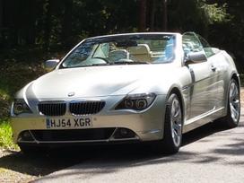 BMW 645, 4.5 l., convertible