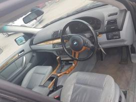 BMW X5. Bmw x5 2001 4.4i dalimis   maza rida sport slenksciai