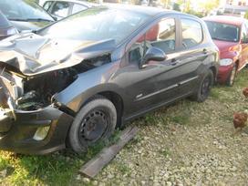 Peugeot 308 dalimis. Rida 19000km airbag nera salono nera des