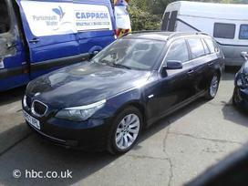 BMW 530. Bmw 530 universalas 3.0 d 2008m, lieti ratai odinis
