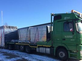 Negabaritinių krovinių pervežimas