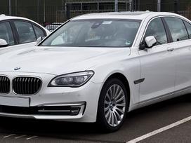 BMW 7 serija dalimis. Bmw f01 760i lietotas rezerves daļas ļoti