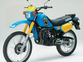 Yamaha DT, enduro / adventure