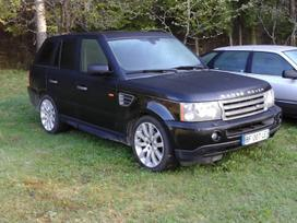 Land Rover Range Rover Sport. Variklis ok ir dėžė veikia gerai