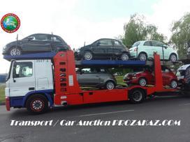 Automobilių gabenimas autovežiu iš Belgijos