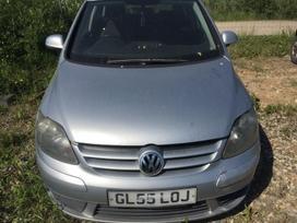 Volkswagen Golf Plus dalimis. Automobilis ardomas dalimis:  запа