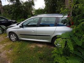 Peugeot 206 dalimis. Detales siunčiame ir į kitus miestus maža