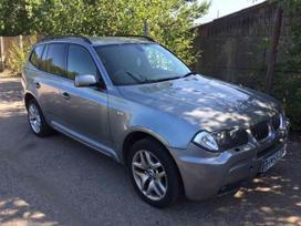 BMW X3 dalimis. Detales siunciame y kitus miestus