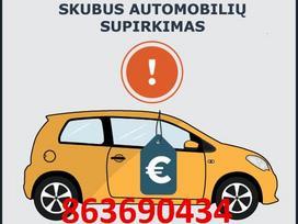 AUTO SUPIRKIMAS NUO 50EUR IKI 50000EUR