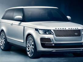Land Rover Range Rover dalimis. ! tik