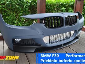 BMW 3 serija. Bmw f30 performance priekinio buferio spoileris