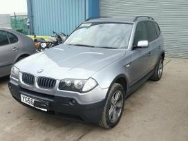 BMW X3 dalimis. Maza rida sport paketas juodas salonas juodos