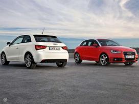 Audi A1 dalimis. Originalios naudotos visų