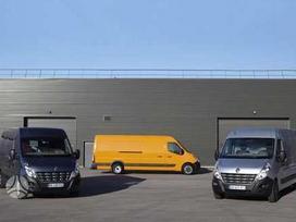 Renault Master dalimis. Originalios naudotos