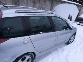 Peugeot 206 dalimis. Detales siunčiame visoje lietuvoje,