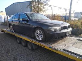 BMW 730 dalimis. Bmw e65 730d 2002m. europinis juodas  spalva: