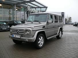 Mercedes-Benz G500, 5.5 l., visureigis