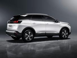 Peugeot 3008, 1.6 l., suv / off-road