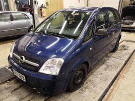 Opel Meriva. Lietuvoje neeksploatuota