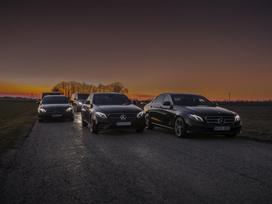 Mercedes-benz E220, sedanas