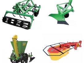 Jar-Met Mini traktorių priedai - padar, pļaujmašīnas / smalcinātāji