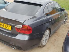 BMW 330. Msport, recaro juodas salonas nevartomas, juodos lubos,